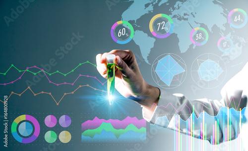 Fotografia  biotechnology concept.