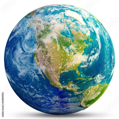 Planet Earth - USA Wall mural