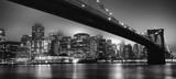 Fototapeta Miasto - Skyline NYC - Brooklyn bridge