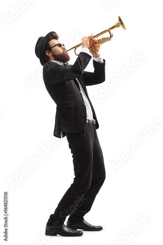 Cuadros en Lienzo Musician playing a trumpet