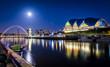Leinwanddruck Bild - Tyne Bridge