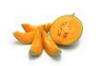 canvas print picture - melon