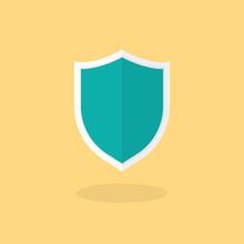 Shield Flat Icon Illustration