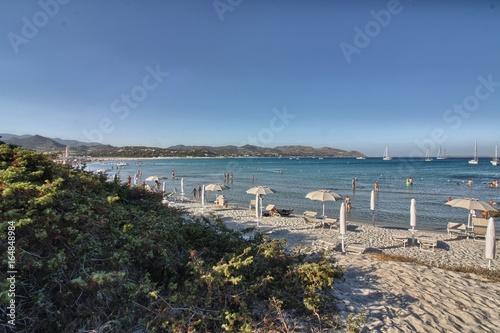 Spoed Foto op Canvas Noordzee Villasimius, Spiaggia di Porto Giunco