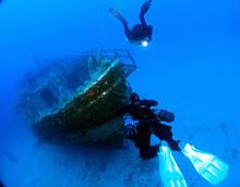 MV Karwela Wreck - Gozo - Side...