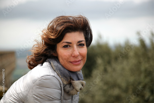 Ritratto di donna Fototapet