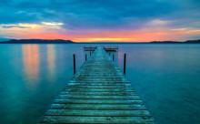 Big Glen Lake Sunset