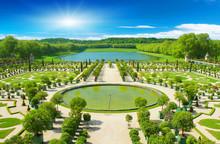 Decorative Gardens At Versaill...