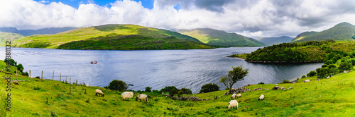 Fotografie, Obraz  Lough Nafooey, County Clare, Ireland.