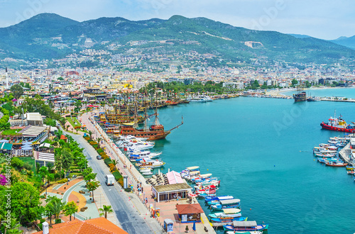 Viewpoints in Alanya Wallpaper Mural