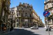 A view of the Piazza Quattro Canti in Palermo . Sicily