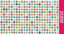 300 Flat Icons
