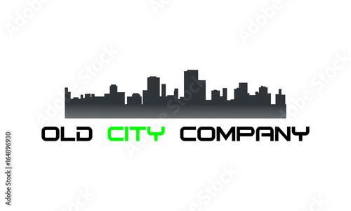 Fototapety, obrazy: Old city logo