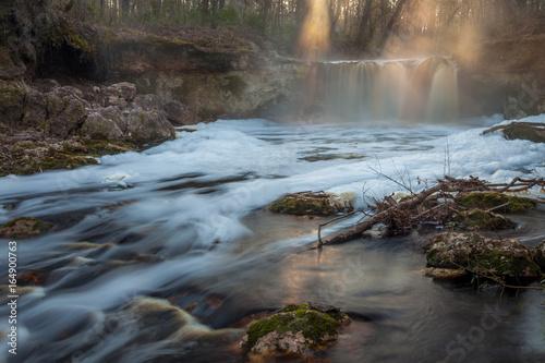 Fotografie, Obraz  Falling Creek Falls
