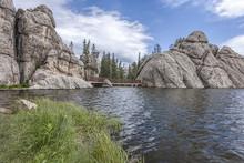 Foot Bridge At Sylvan Lake