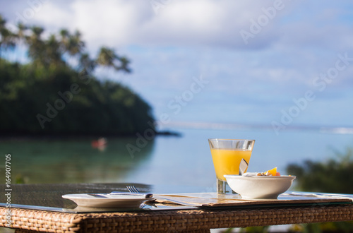 Fotografie, Obraz  island breakfast