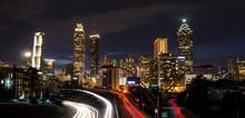 Long Exposure - Atlanta, Ga. -  From Jackson Street Bridge
