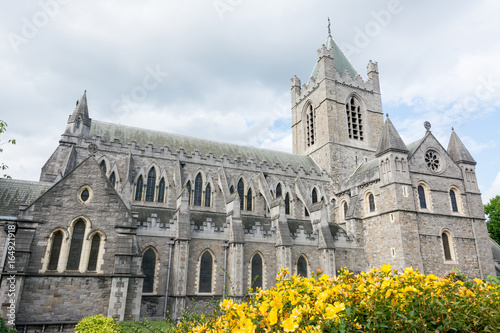 Photo  Travel in Ireland. Dublin, Christ Church Cathedral