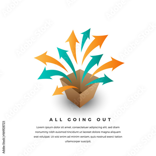 All Going Out Canvas-taulu