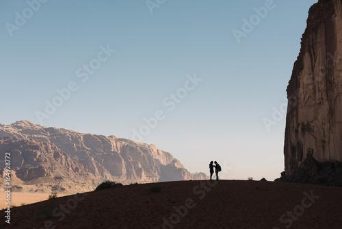Tuinposter Midden Oosten Couple enjoyng nature