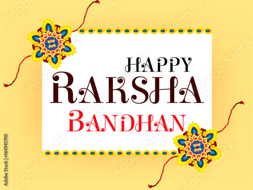 Valokuva  Abstract Raksha Bandhan Celebration Background