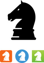 Chess Piece Icon - Illustration