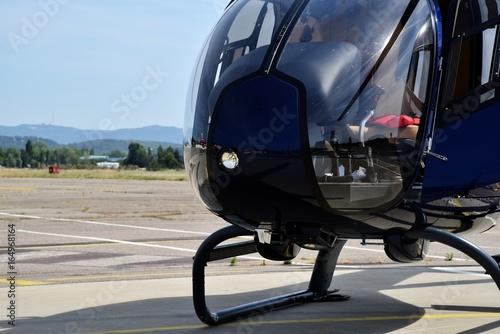 Plakat Helikopter Cokpit