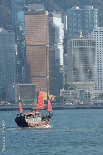Photo  Chinese sailing ship