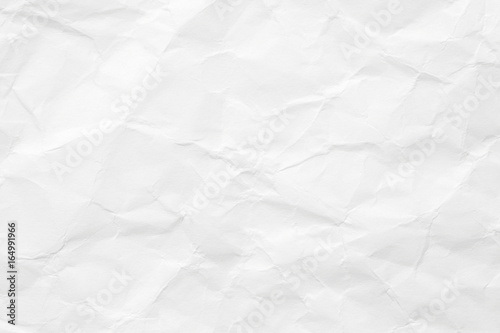 The texture of white paper is crumpled Tapéta, Fotótapéta