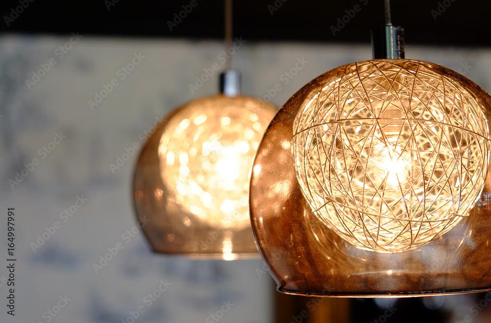 Fototapety, obrazy: Luxury lamp