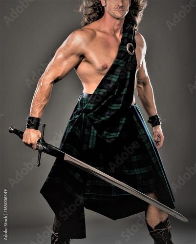 Highlander Man Wall mural