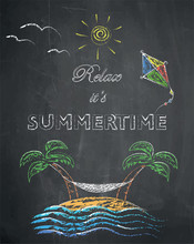 Relax It's Summertime - Palm T...