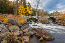 Stone Bridge Over A Flowing Ri...