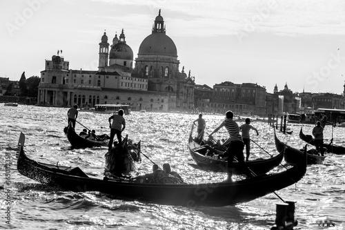 Türaufkleber Gondeln Venice Gondola