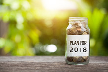 Plan For 2018 Word With Coin I...