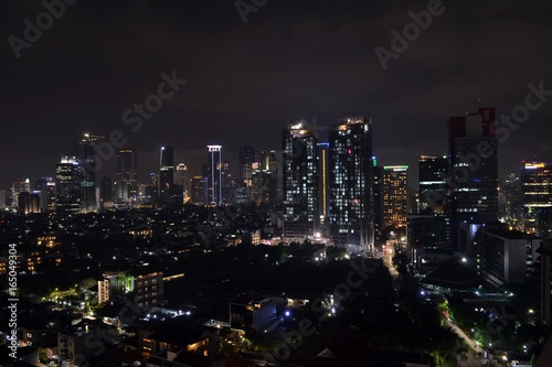 Poster Tokyo The Skyline of Jakarta