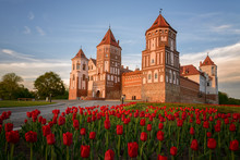 Mir Castle Complex In The Town...
