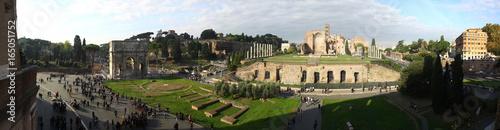 Zdjęcie XXL Zabytki starożytnego miasta Rzymu