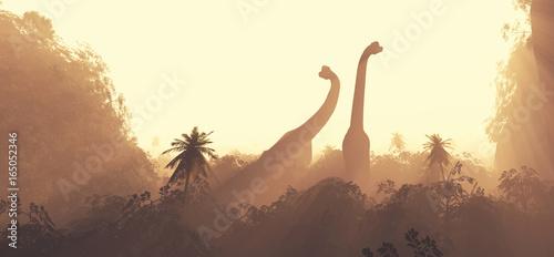 Naklejki dinozaury  brachiosaurus-dinosaurs