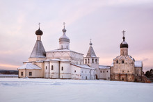Ferapontov Monastery At Sunrise