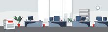 Office Desktops Background Vec...