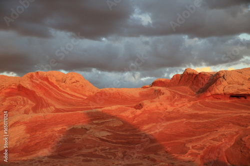 Canvas Prints Red White Pocket in the Vermilion Cliffs National Monument, Arizona