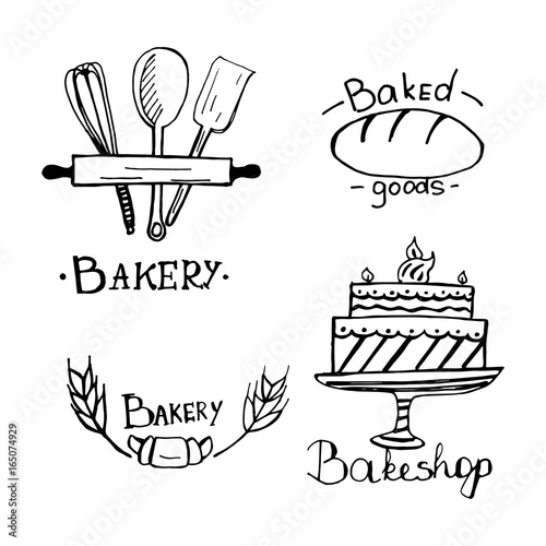 Bakery Logo Design An Idea For Cafe Bakeshop Maffin Shop