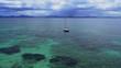 Bucht von Alcudia, Mallorca, Spanien mit ihrem türkis blauen Wasser