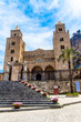 The Cathedral of Cefalù, Sicily, Italy.