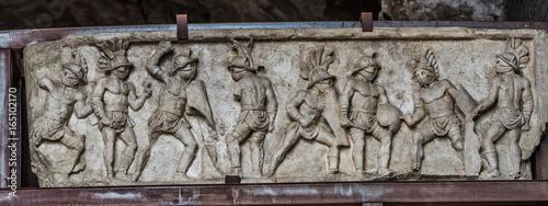 Fényképezés  Gladiators of Colosseum in Rome