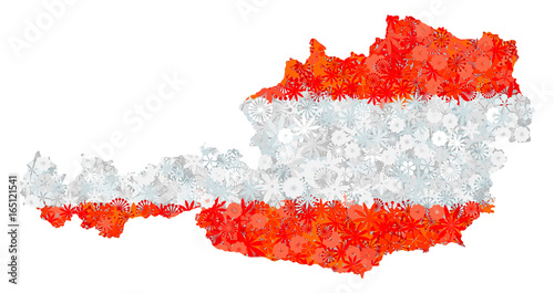 Flag and map of austria with flowers clipping path included in jpeg flag and map of austria with flowers clipping path included in jpeg file vector mightylinksfo