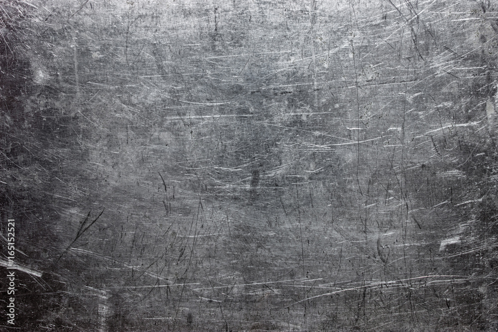 Fototapety, obrazy: Rough metal texture, gray steel or cast iron surface