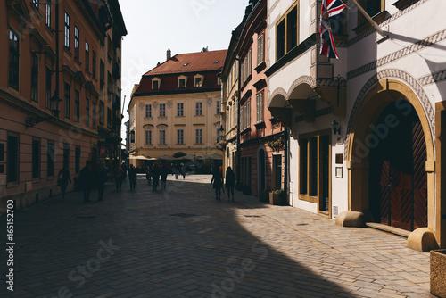 Altstadt von Bratislava, Slowakei Poster