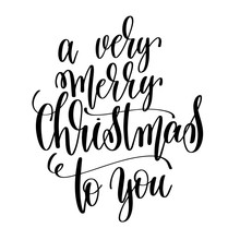 A Very Merry Christmas To You ...